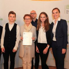 """And the succes story goes on …""""Hertha Goes Science"""" unter den 20 besten Projekten im Finale des B & C Bildungspreises"""