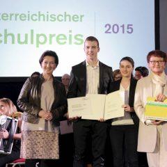 And The Winner Is … Hertha Firnberg Schulen gewinnen den Österreichischen Schulpreis 2015