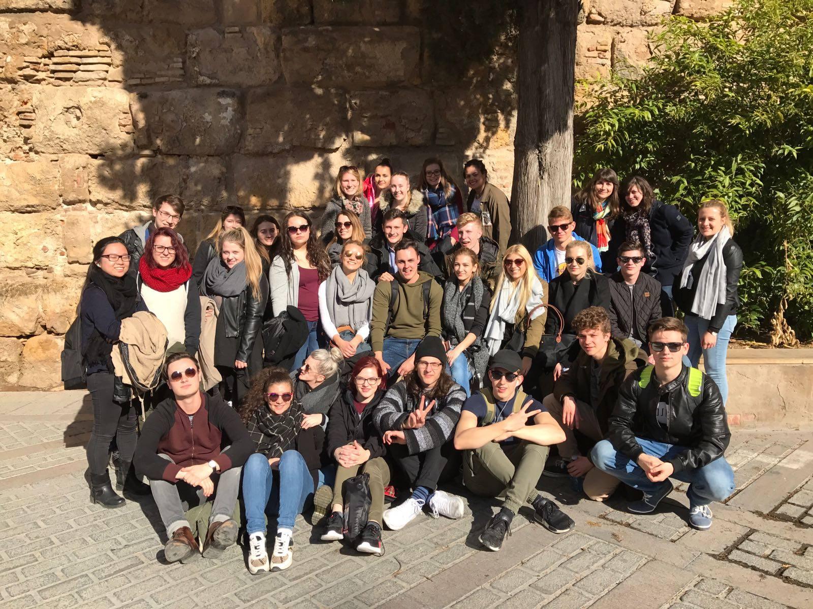 Spanischunterricht einmal anders – la 4HMA & 4HMB en España