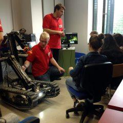 1HSA und 2HSA beim ROBOTICS DAY 2017 an der FH Technikum Wien