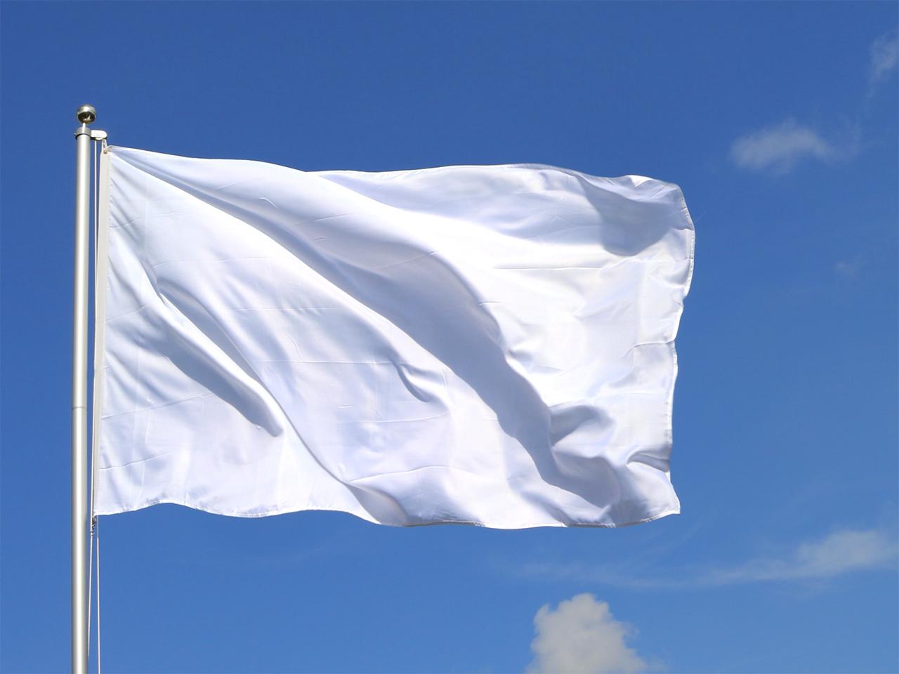 Weiße Fahne für unsere 5HBA, 5HCSA und 5 HTB