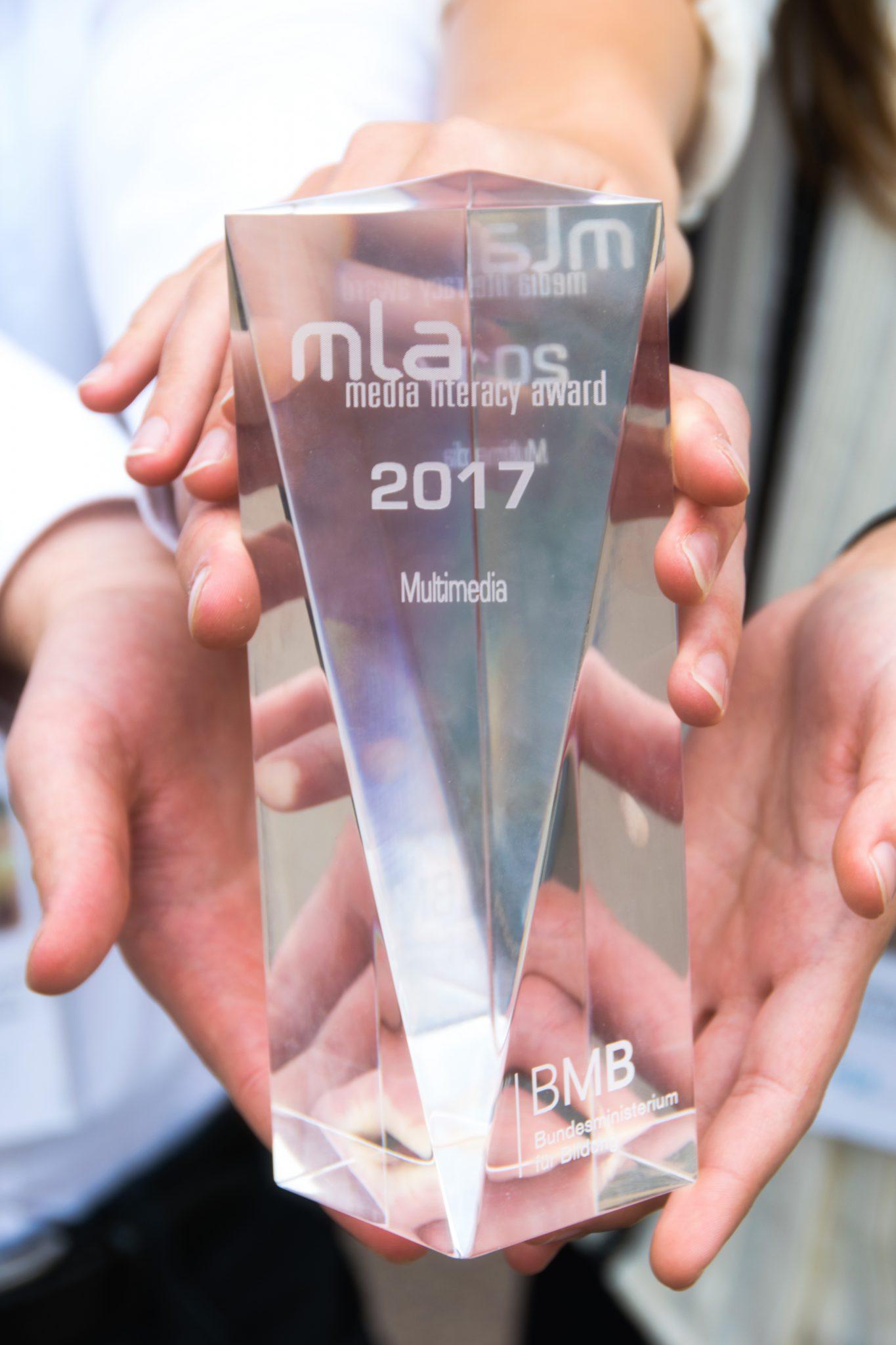 """Ein """"Media Literacy Award"""" für die 3HTA"""