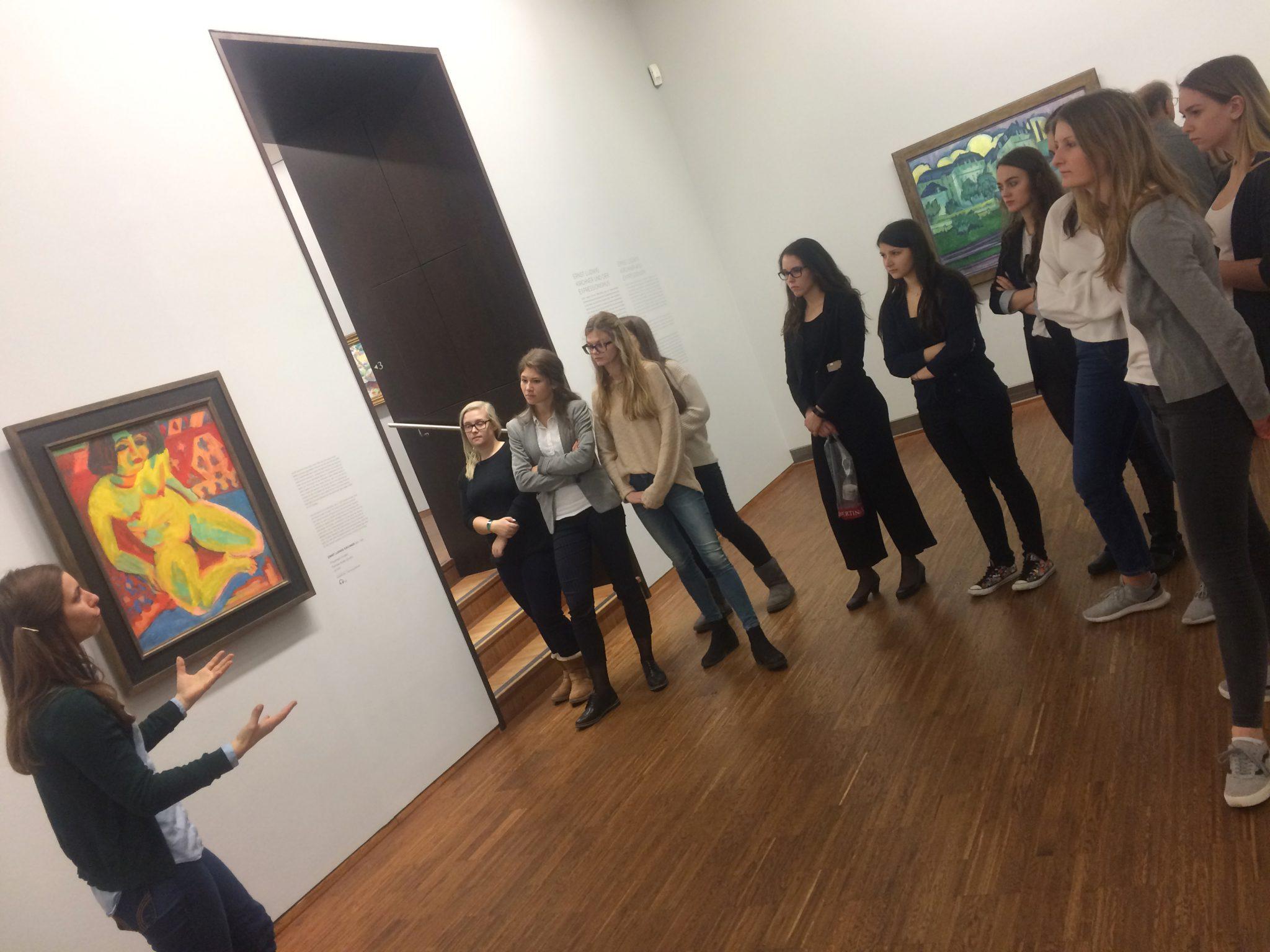 Nachts im Museum oder Kunst hautnah!