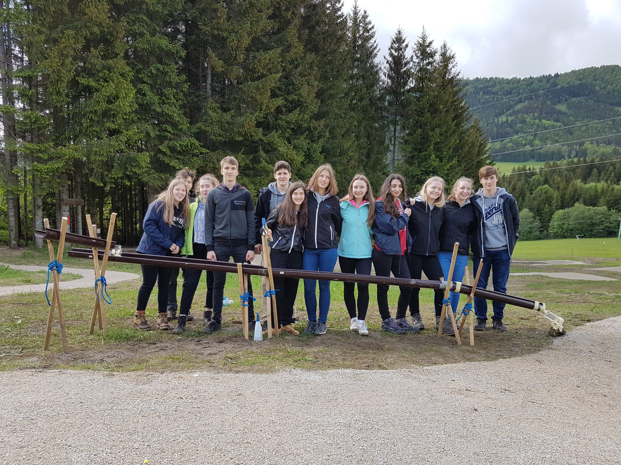 Outdoortage der 2HTA in Annaberg (14.-17. Mai 2018)