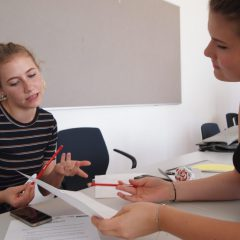 """3. Workshop des Schulprojektes """"Sharetech"""" an den Hertha Firnberg Schulen"""