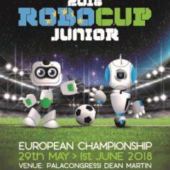 Hertha Firnberg Schulen beim Robocup Europameisterschaft 2018 in Italien