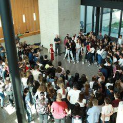 Welcome-Workshop für unsere neuen Schülerinnen und Schüler