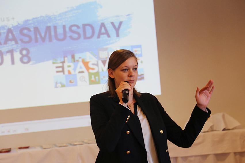 #Erasmusdays: Hertha Firnberg Schulen feiern Erasmus+