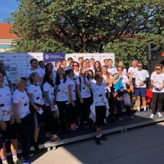 Hertha on the move – Hertha Firnberg Schulen beim AKH-Krebsforschungslauf