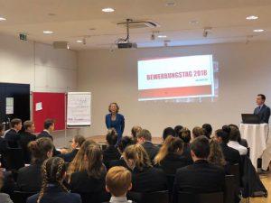 Bewerbungstag an den Hertha Firnberg Schulen