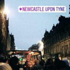"""""""Relais de la Mémoire Juniors""""-Treffen in Newcastle"""