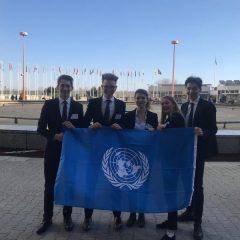 10. Modell UNO: SchülerInnen der Hertha Firnberg Schulen überzeugen auf diplomatischem Parkett