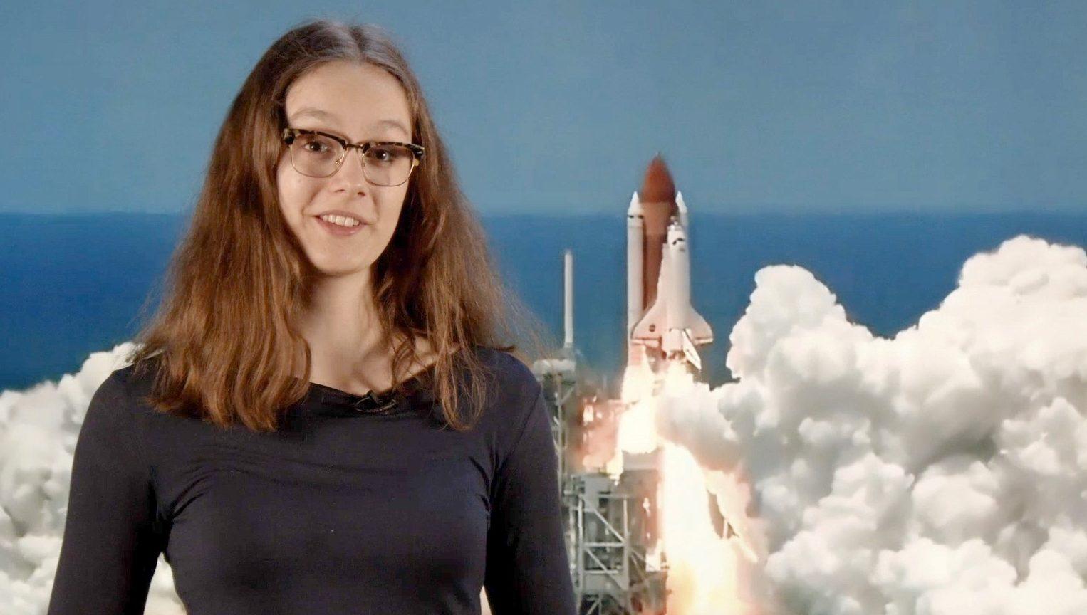 Schülerin der Hertha Firnberg Schulen gewinnt Ticket zum Internationalen Space Camp 2019 in den USA