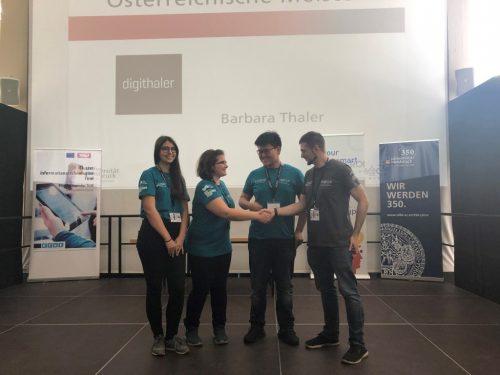 Hertha Firnberg Schulen beim RoboCup Junior Austria 2019