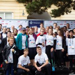 Hertha goes Europe – Hertha Firnberg Schulen beim AKH-Krebsforschungslauf 2019