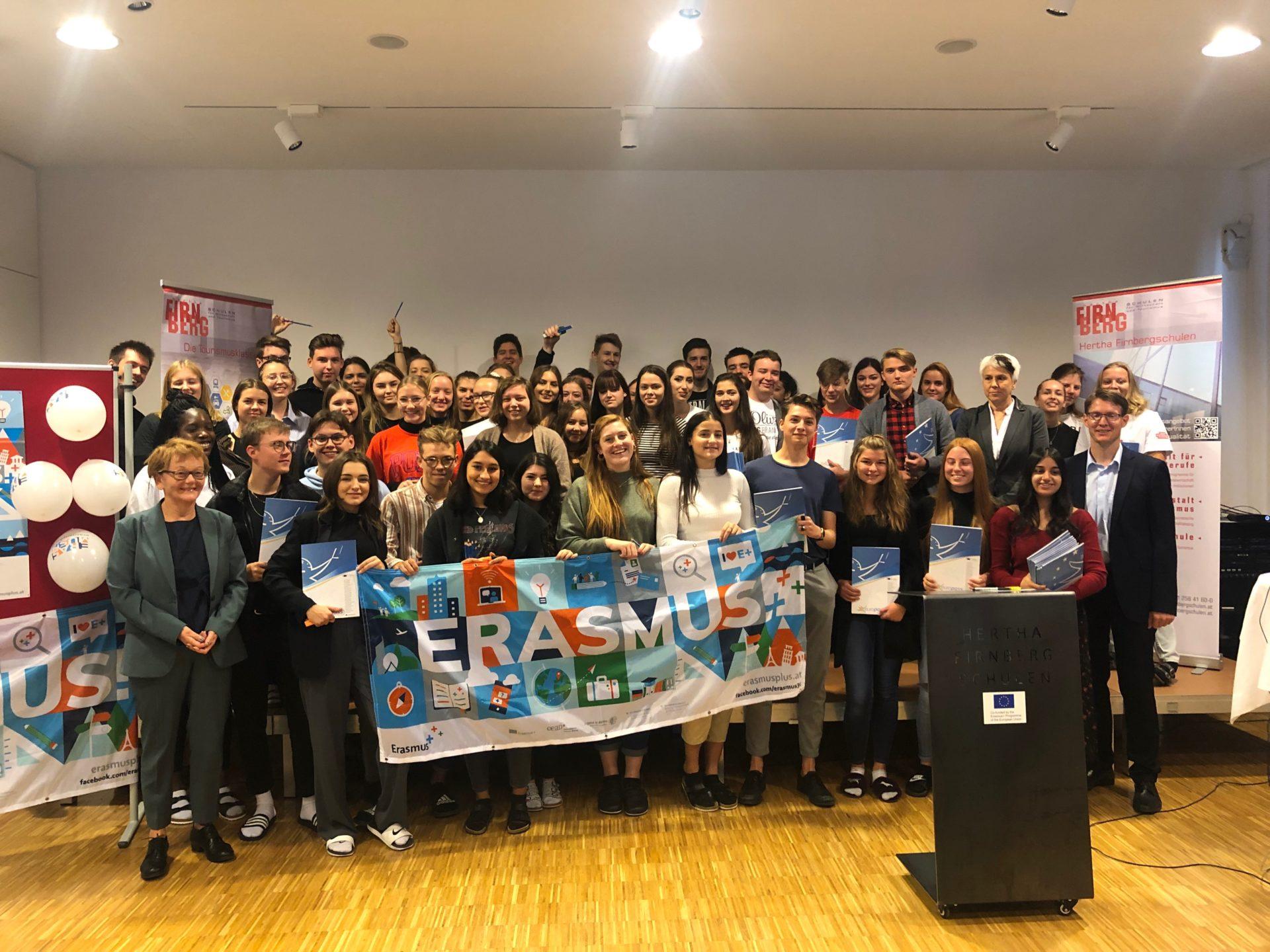 #ERASMUSDAYS 2019: Hertha Firnberg Schulen feiern Erasmus+
