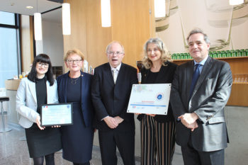 """Label """"FrancÉducation"""" – Eine hohe Auszeichnung für die Hertha Firnberg Schulen"""
