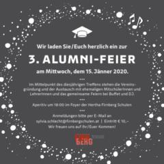 Einladung zur Alumni-Feier